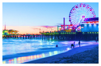 SAN FRANCISCO – SANTA MONICA BEACH - LOS ANGELES